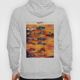 1969 Hot Wheels Redline Catalog Poster with experimental prototype colors Hoody
