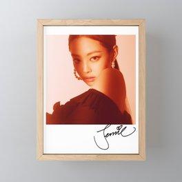 BLACKPINK Jennie Framed Mini Art Print