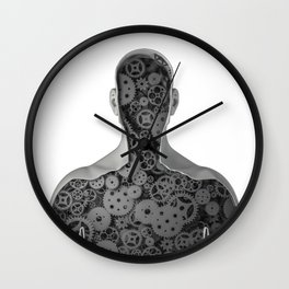 Clockwork human Wall Clock