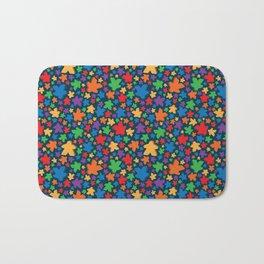Funky Meeple Pattern Bath Mat