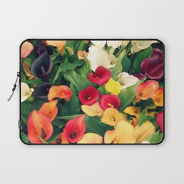 Rainbow Calla lily Laptop Sleeve