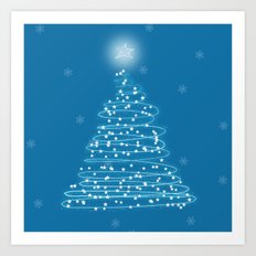 Holiday Tree Art Print
