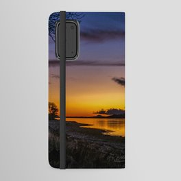 The Blue Hour over Loch Linnhe - Scottish Highlands Android Wallet Case