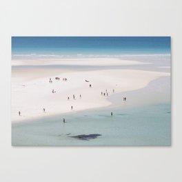 When Art Meets Beach Canvas Print