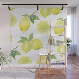 lemons Wall Mural