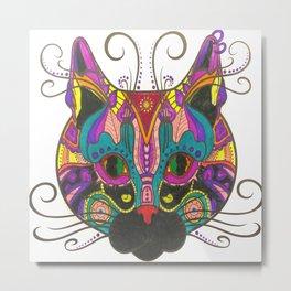 Cat Style Metal Print