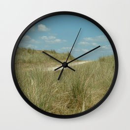 This way to the beach Wall Clock