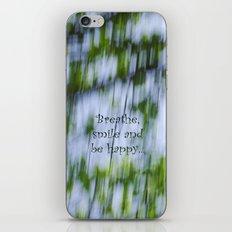 Green Rain iPhone & iPod Skin