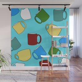 Coffee Mugs! Wall Mural