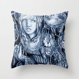 Spirited Awake Throw Pillow