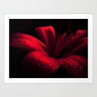 ruby Art Prints featuring Ruby by Vitta