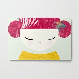 geisha ro Metal Print