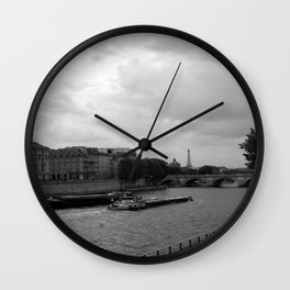 The Seine, Paris Wall Clock