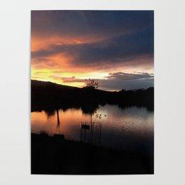 Escondida Lake Poster