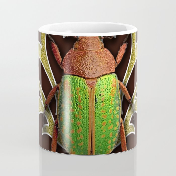 LIME BEETLE Coffee Mug