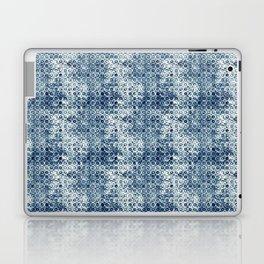 Grungy Teal Circles Laptop & iPad Skin