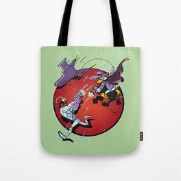 darkwing Jim green Tote Bag