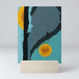 Turquoise Twelve Mini Art Print