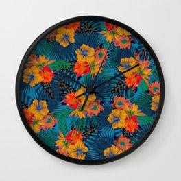 My Tropical Garden 17 Wall Clock