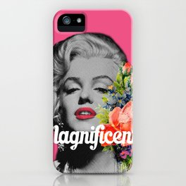 Magnificent Marilyn iPhone Case