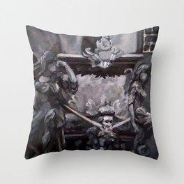 Royal Crypt Throw Pillow