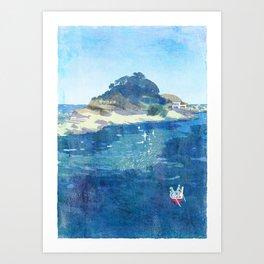 The Niemon Island Art Print