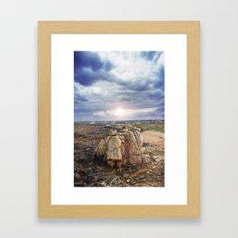 Île-de-Bréhat / Enez Vriad #01 Framed Art Print