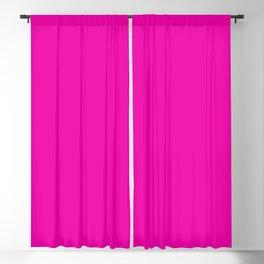 Hollywood Pink - Feminine Plain And Simple Blackout Curtain