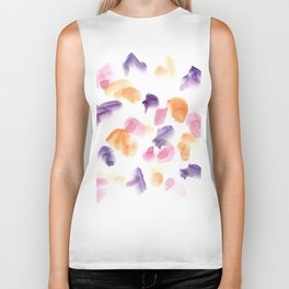 170722 Colour Loving 26  |Modern Watercolor Art | Abstract Watercolors Biker Tank