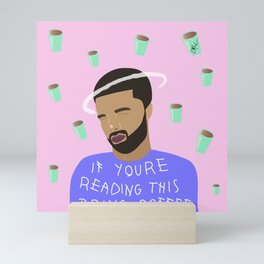 Drake Roast Coffee Mini Art Print