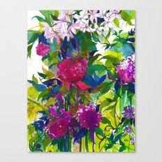 Summer Petals Canvas Print