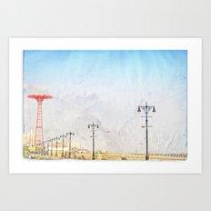Brooklyn's Eiffel Tower Art Print