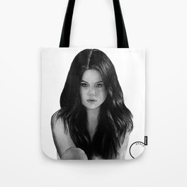 Graphite drawing by Derek Xie Tote Bag