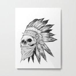 Skol Metal Print