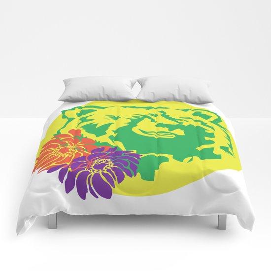 Hawaii Bear Anemone Comforters