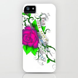 Let your beauty run wild iPhone Case