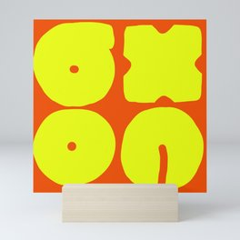 Four Blocks Mini Art Print