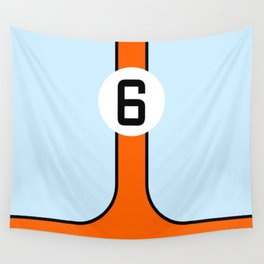 Gulf Le Mans Tribute design Wall Tapestry