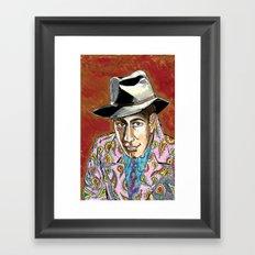 Dead men don't wear Paisley Framed Art Print