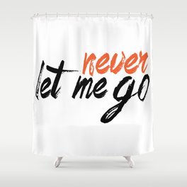 Never let me go Shower Curtain