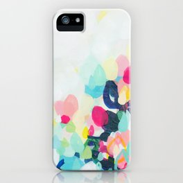 Little Hills 1 - Abstract landscape Painting iPhone Case