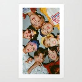 BTS Poster Art Print