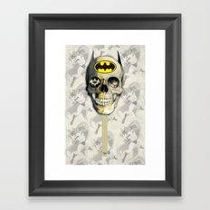 Bat Pop Framed Art Print