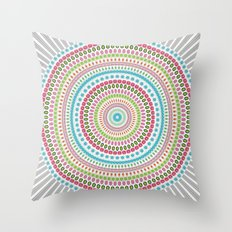 Mandala Apple Pie Throw Pillow