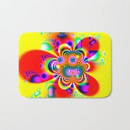 Fractal - Power Flower Bath Mat