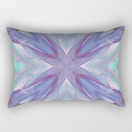 Watercolor Abstract Rectangular Pillow