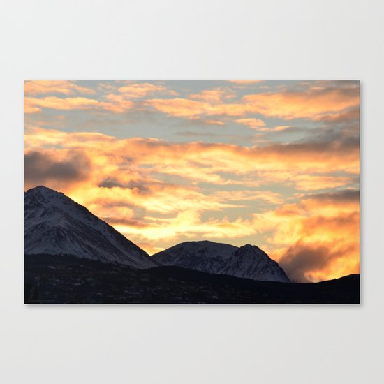 Good Morning Last Frontier! Canvas Print