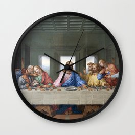 The Last Supper by Leonardo da Vinci Wall Clock