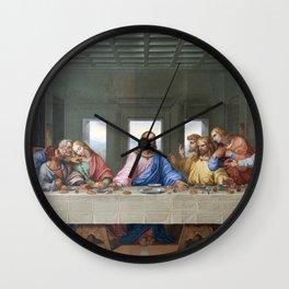 The Last Supper by Leonardo da Vinci Wall Clock