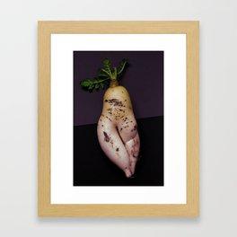 Boudoir vegetal Framed Art Print